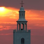Remnant Fellowship Church sunrise on the steeple