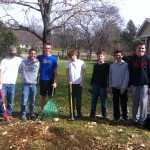Remnant Fellowship youth serving outside