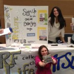 The RF Life Club sponsored by Remnant Fellowship Church and Weigh Down Ministries Participate in MTSU College Fair!