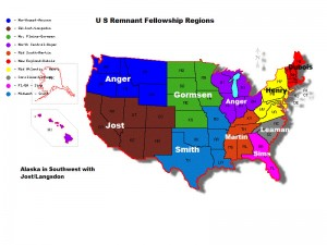 Fellowship Group Map - US